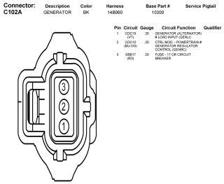 2006 mazda 3 fusion alternator wiring Wiring Diagram Manual