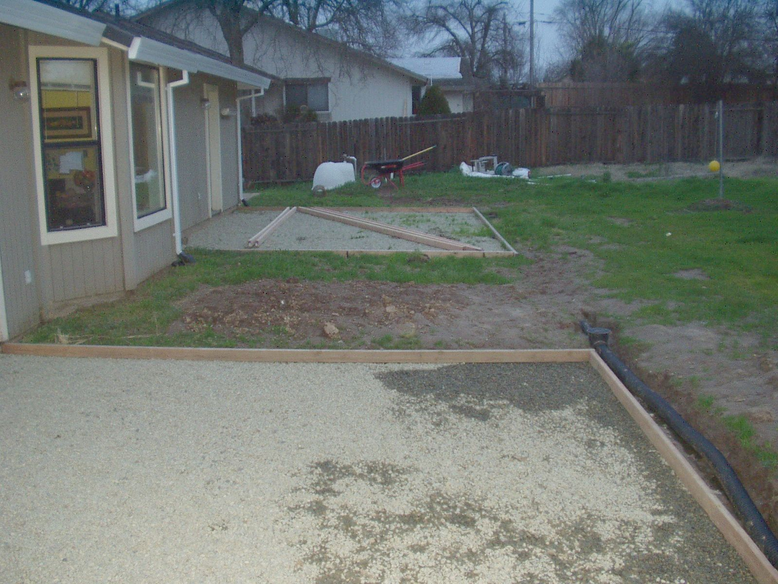 Stamped and Colored Concrete Patios Project